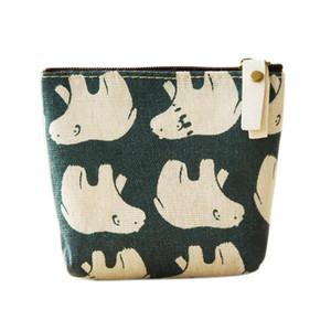 Hot Sale Portable Zipper Cotton Linen Coins Change Storage Bag Wallet Jewelry Organizer Pouch Case