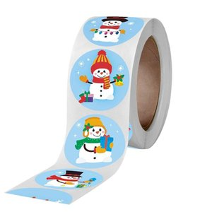 New Products Are Available In A Variety Of Styles Christmas Santa Claus Snowman Decoration Paper Tape Single-sided Paper Masking Tape Adhesi