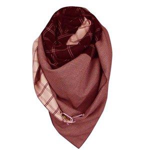 Lujo-mujer bufandas mujeres impresión casual bufanda moda retro multiusos chal botón bufanda accesorios echarpe femme hiver