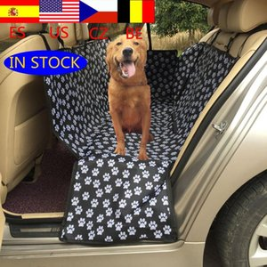 Hot sale Pet dog sling back waterproof pet car seat cover cushion hammock protection safty belt seat belt protect pets