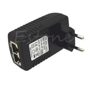 Wall Plug POE Injector 48V 0.5A Ethernet Adapter IP Phone Camera Power Supply UK