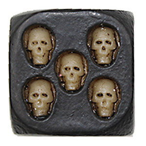 Skull Dice Creative Dice Rounded Corner Dice Multi Decorative Dices Boson Toy Funny Family Game For Party