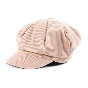 Cokk Newsboy Cap Beret Women Vintage Beret Painter Winter Hats For Women Men Octagonal Caps Female Bone Male New 11.11 Hats Swy sqcXKI
