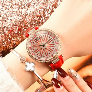 Europe and the United States elegant ladies watch time to run fashion trend female watch full diamond waterproof watch female fashion table