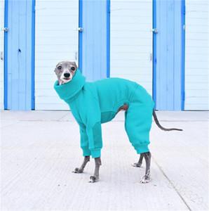 Collier High Collier Vêtements de chien Accessoires Hood Pet Multi Couleur Chiot Vêtements Chaud Ropa Para Perros Fashion Haute Qualité 27LM G2
