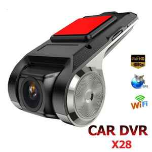 ANYTEK X28 mini auto DVR Camera Full HD 1080P Auto Digital Video Recorder DVRS ADAS Camcorder G-Sensor Dash Cam WiFi GPS Dashcam