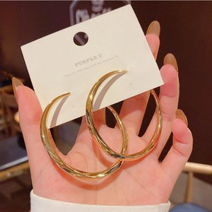 S925 Silver Plated Earrings Jewelry Ornament Circle Retro Alloy Classic Women Hoop Ear Studs Fashion Hot Sale 2 5sff M2