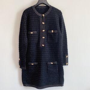 2020 Langarm-O Ansatz Art und Weise Milan Runway-Kleid-Entwerfer-Kleid-Marken Same-Art-Kleid 1118-1112