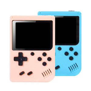 Mini Handheld Game Consoles Can Store 800 Games 3.0 inch Portable Game Player TV Video Game Box Macaron Color For Kids Gift PK PXP3 PVP