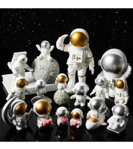 Creative Resina Espaço Astronauta Decorações Desporto Decoração Soft Estúdio Estúdio Estúdio Moderno Mobiliário Home Presentes Coleção Coleção