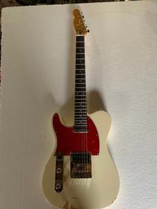 Vendita all'ingrosso della mano sinistra 6 corde per chitarra, solido corpo in mogano con top in acero a fiamma, hardware cromato, consegna gratuita
