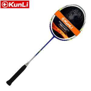 Original Kunli oficial badminton 5u 79g força snipe 79 carbono cheio de carbono ultra luz ataque profissional raquete de penas z1202