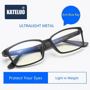 KATELUO 2020 Unisex Computer Goggles Anti Blue Light Laser Fatigue Radiation-resistant Glasses Eyeglasses Frame for Women Men