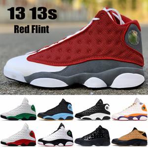 2021 novos 13 13s Jumpman Homens Sapatos de Basquete Vermelho Flint Hyper Royal Lucky Green Reverse Ele Tem Jogo Playground Mens Sneakers US 7-13
