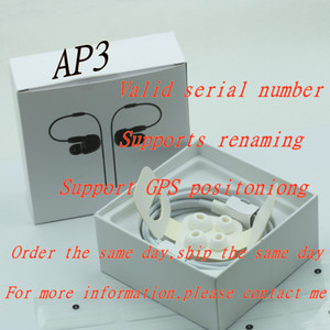 GPS rename AP2 AP3 wireless bluetooth earbuds H1 chip wireless charging box optical in-ear detection AP3 Pro 2ND 3ND headset