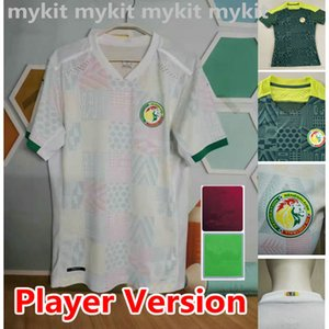 Player Version 2020 2021 Senegal soccer jerseys national football MANE KOULIBALY GUEYE KOUYATE SARR homme Maillot de foot football Uniforms