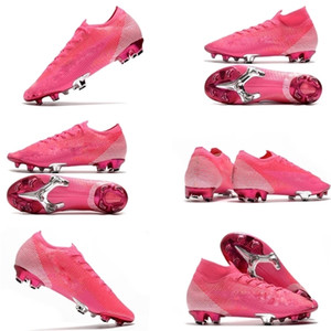 fashion Mens Soccer Cleats Superfly 7 Elite SE FG CR7 Neymar Soccer Shoes Mercurial Scarpe Calcio Crampons De Football Boots size 35-45