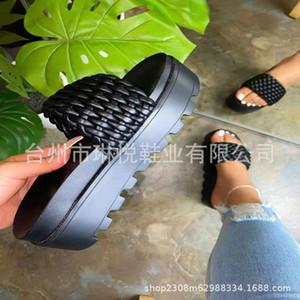 YFBI YQO67 Pantofole piatte Designer Scarpe di qualità Fashion Luxurious Stampato Cotone Slipper ricamato da donna in cotone Elevato Stilista Dener Slipper