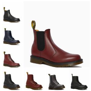 Invierno 2020 peluche zapatos de algodón térmico botas de nieve Martin Boots British Style High Top Top Top Wear's Wear's Wear Boots