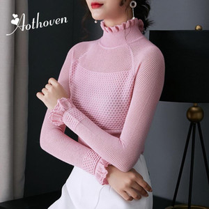 Sweater Women High Quality Turtleneck Pullover Winter Tops Solid Long Sleeve Wool;Sweater 2020 Autumn Female Sweater Hot Sale