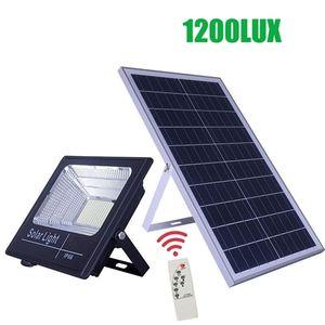 1200lux Big Leds Solar Panel Light Led Solar Light Outdoor Lighting Waterproof Solar Outdoor Lamp SolarFlood Light Cable Q1121