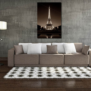 Wall Unframed W131 Tower Art Canvas Prints for Home Decoration