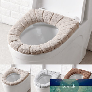 1pc Toilet Seat Cover 30CM Household Universal Warmer Soft Washable Cushion For Bathroom Toilet Closestool Mat Seat Case