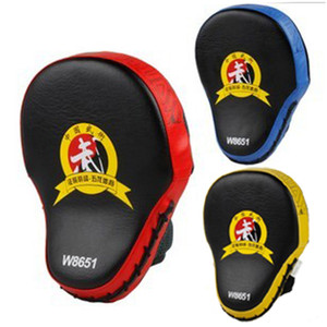 Nuova mano Target MMA Focus Punch Pad Boxing Guanti da allenamento Mitts Karate Muay Thai Kick Kick Fighting Yellow Boxing Pads Kick Addestramento