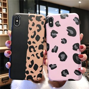 Wholesale DHL Lovebay Leopard Print Phone Case For iPhone 12 7 8 Plus XS XR 11Pro XS Max Luxury Colorful Soft TPU For iPhone 11 Back Cover