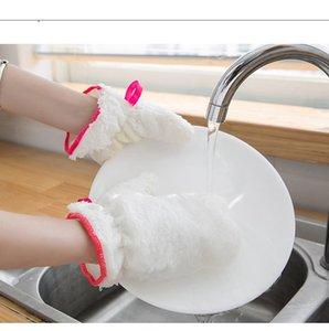 Несчастная нефтяная тарелка Моющая перчатка Кухонная Чистящая кисть Чаша Водонепроницаемые Перчатки Мягкие Твердые Перчатки Бытовая техника LLS740