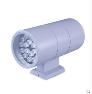 30W COB LED Outdoor Wall Light Up Down Dual-Head Cylinder Waterproof Aluminum Fixture for Outdoor Lighting Wall Lamps AC 85-265V B011-7