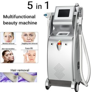 OPT Alexandrite Laser hair removal for Pain-Free IPL Hair Removal on ALL Skin Types ND-Yag laser pigments removal SHR