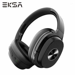 EKSA Headphones sans fil E5 5.0 Casque Bluetooth Bruit active Annulation du casque sans fil pliable avec micro 920mAh For1