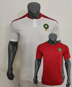 2020 2021 Morocco Soccer Jerseys SAISS BELHANDA BOUFAL ZIYECH home away 20 21 football shirts S-2XL