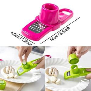 Manual Alho Moagem Grater gengibre gengibre alho Presser Cozinha Cozinhar Gadgets Ferramentas Multifuncional Gengibre Alho Presser GWF4529