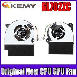FAN 아수스 ROG GL702 GL702Z GL702ZC ROG STRIX S7ZC FAN COOLER 12V 1.0A 0.7A를 COOLING NEW ORIGINAL의 CPU에 GPU