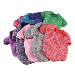 Pet Dog Clothes Fashion Cotton Sweater Winter Warm Dog's Coat Cute Trendy Sweatshirt Outerwears Outdoor Pet Clothing Coat New 32 L2