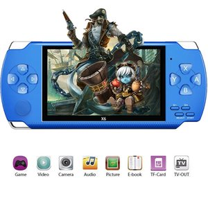 NEW Player X6 for PSP Game Handheld Retro Game 4.3 inch Screen Mp4 Player Support Camera Video