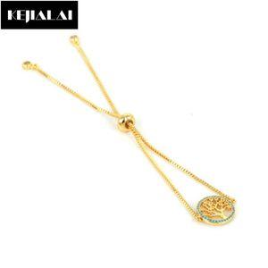 2020 Fashion Link Chain Tree of Life Charm Bracelet for Women Girls Simple Sweet Style Tree Shape Men Bracelets Bangle Pulseras