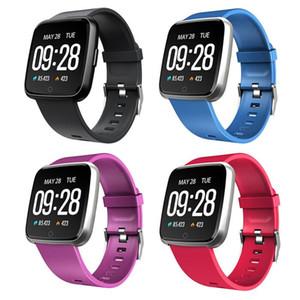 Y7 Smart Bracelet Blood Pressure Pressione Blood Oxygen Sport Fitness Tracker Guarda Cardiofrequenzimetro Poliso PK Fitbit Versa MI Band 3 115 Plus