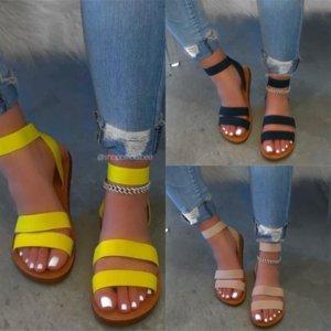 4Kg LOSLANDIFEN sandal Block Open women Toe Cross StrapWedgeSandals High Heel Chunky designer Women's Heels Dress high