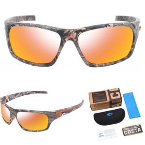 TR90 Frame Costa Sunglasses Men Sport Sunglasses UV400 Protection Camouflage Sunglasses For Women Driving Golf Fishing Eyewear