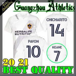 NCAA LA Galaxy 2020 2021 white CHICHARITO Los Angeles Galaxy soccer jerseys GIOVANI football shirts ALESSANDRINI DOS SANTOS 20 21 KAMARA LLE