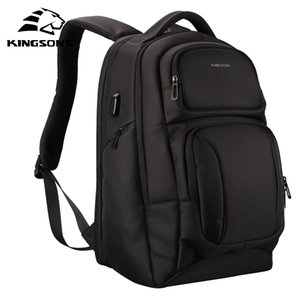Men's Backpacks Anti-Theft 15'' Large-capacity Laptop Backpack Travel Bag Male Casual