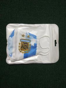 Equipo 5pcs Material Real algodón Madrid Madrid Máscara de fútbol Máscaras Máscaras Máscara desechable se puede poner en el medio lavable reutilizable