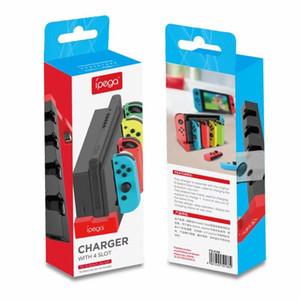 NUOVO PG-9186 Caricabatterie del controller di gioco Caricatore Dock Dock Stand Supporto per Switch Joy-Con console di gioco con INDI