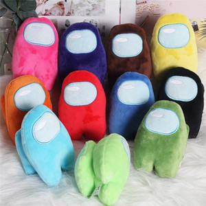 12 Colors Small Soft Plush Among Us Game Plush Toy 10cm Cute New Game Stuffed Doll Plushie Kid Playmate Toys Christmas Gifts
