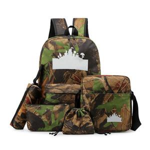mens camouflage handbag backpack multi-function shoulder bag large capacity men backpack handbag casual sport backpack BG8912