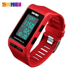 SKMEI Pedometer 3D Men Women Sport Watch Calories Digital Wristwatches For Mens Ladies Fashion Waterproof Reloj Montre Bracelet1
