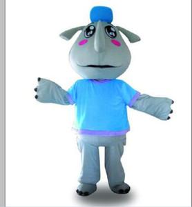 2019 Hot sale rhinoceros Mascot Costume Adult Halloween Birthday party cartoon Apparel